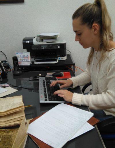 Estefanía González Pascual, alumna del Máster en Patrimonio Histórico y Territorial impartido por la Universidad de Cantabria