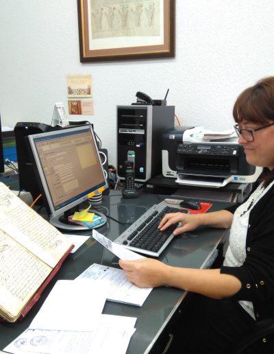 Jana Pardo Gutiérrez, alumna de prácticas del CIESE Comillas