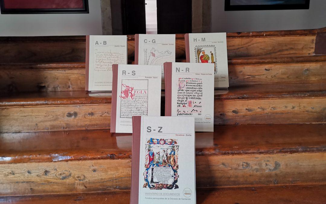 Inventarios de fondos parroquiales de la diócesis de Santander on line
