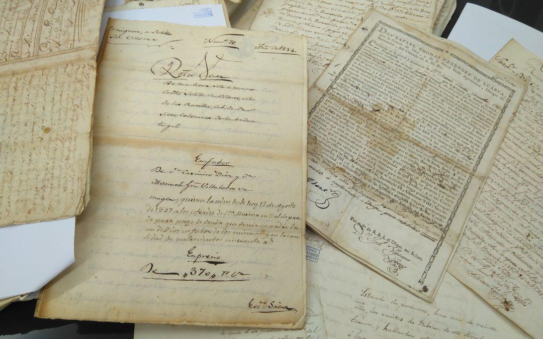 Trabajando en la edición impresa de los inventarios actualizados de parroquias